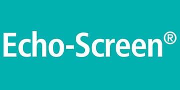 Echo screen